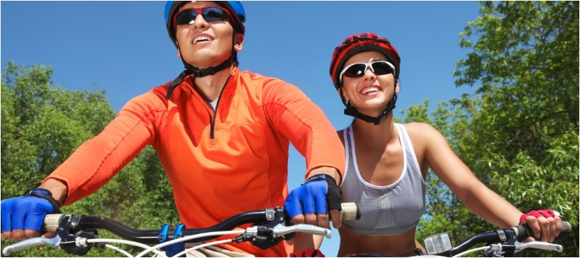 רכיבה בריאה על אופניים