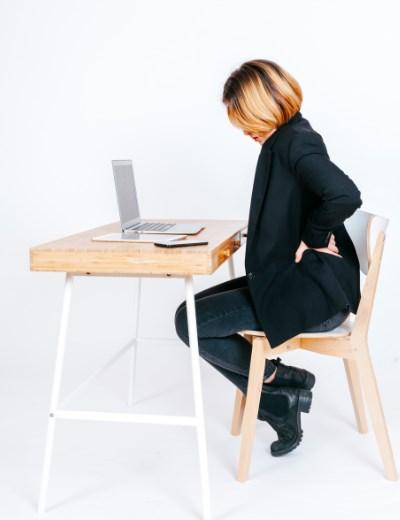 כאבי גב בגלל ישיבה