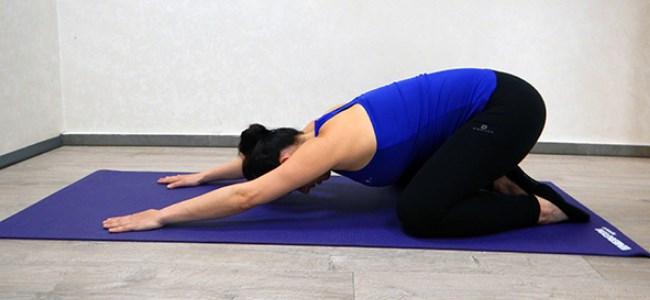 פילאטיס - תנוחת מנוחה לנשים בהריון