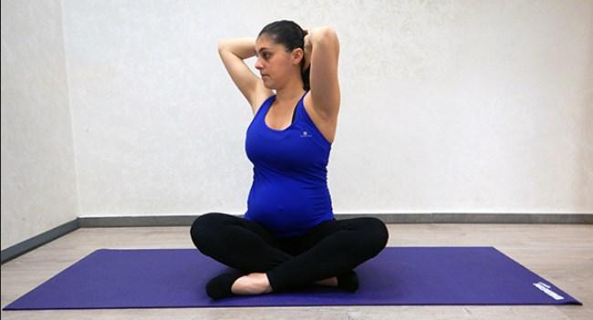 תרגול פילאטיס בהריון