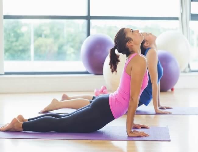 שיעורי פילאטיס לכאבי גב תחתון
