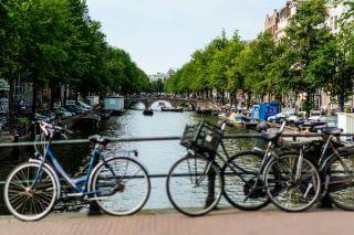 רכיבת אופניים באמסטרדם