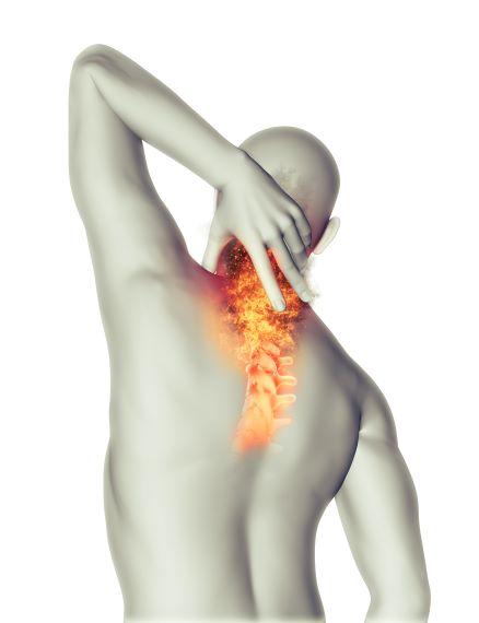 כאבים פריצת דיסק צווארי