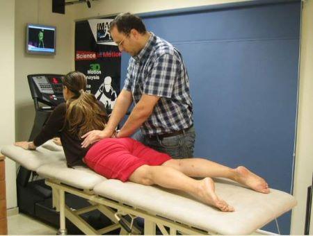 פיזיותרפיה לגב תחתון באיימקס