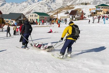 פציעה בסקי